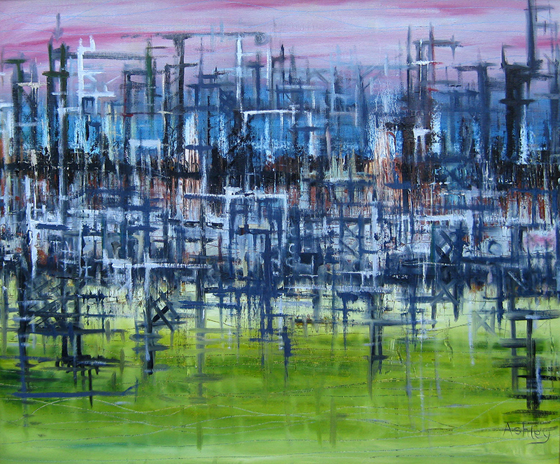 Abstract Oil Painting Video